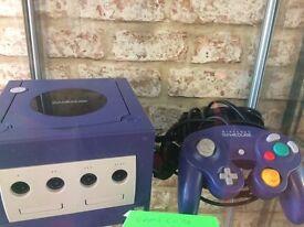 Purple gamecube
