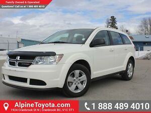 2013 Dodge Journey SE PLUS   - Low Mileage
