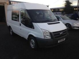 Ford Transit 2.2 td T260 SWB hi top 5 seater 2011 11 reg motd til April 18