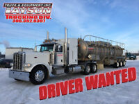 EXPERIENCED 1A DRIVERS WANTED IMMEDIATELY