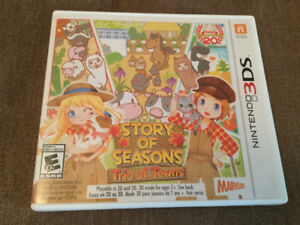 Story of seasons trio of towns pour nintendo 3ds 2ds