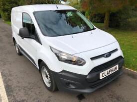 2016 FORD TRANSIT CONNECT 1.6TDCi 95PS FACTORY CREW VAN L1 ONE OWNER