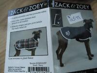 dog coat. Water resistant.