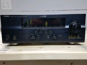 Yamaha receiver and Paradigm speakers