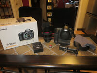 Canon 6d Full Frame Kit w/ 24-105 f4 L IS Lens & Battery Grip