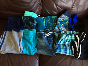 Boys shorts and swim shorts size 7/8