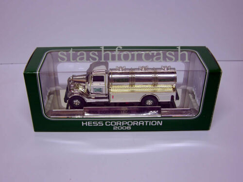 2006 Hess Chrome Rare Special Edition Mini Truck - Read Details