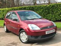 Ford Fiesta 1.4 Durashift EST 5DR Finesse***ONLY 27K GENIUINE LOW MILES***`