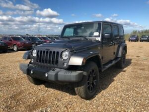 2018 Jeep Wrangler Unlimited Sahara- YOUR TICKET TO THE OUTDOORS