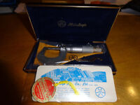 VINTAGE tools - micrometers and gauges