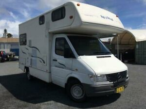 1999 Mercedes-Benz Sprinter 412D SWB White Cab Chassis 2.9l RWD Currumbin Waters Gold Coast South Preview