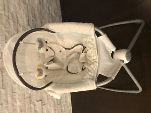 My Little Lamb Rock'n Play Platinum Deluxe Newborn Sleeper