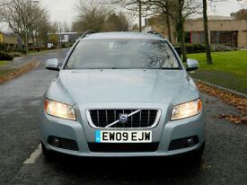 2009 09 Volvo V70 2.4 D SE Geartronic 5dr WITH F/S/H+LEATHER+SATNAV++