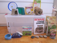 Dwarf Hamster Accessories- Food, Toys, Cage