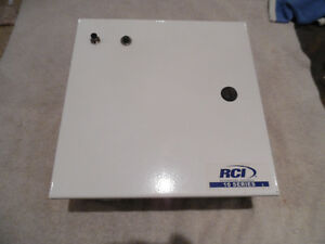 "Electrical Panel Enclosure 10"" x 10"" x 4 "" White New in box  A b"