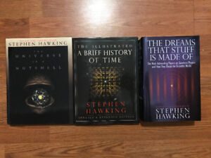 Like New Stephen Hawking Hardcover Books *Great Buy/Condition!*
