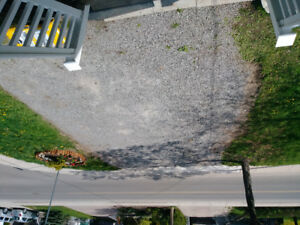 Looking to get a driveway edged with wood ties.