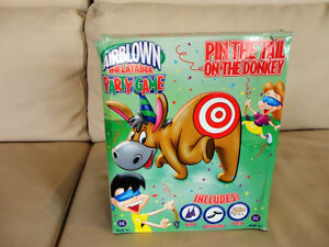 For Rent -4' Airblown Inflatable Pin The Tail On The Donkey Game Kitchener / Waterloo Kitchener Area image 1