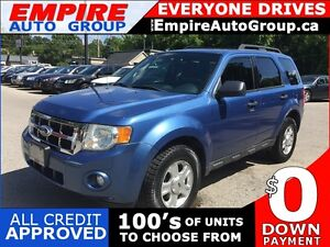 2010 FORD ESCAPE XLT * AWD * SUNROOF * SAT RADIO SYSTEM