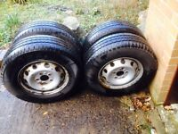 Fiat Ducato wheels and tyres