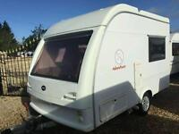 Abi adventurer 2001 3 berth touring caravan
