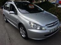 Peugeot 307 SW 2.0 16v 2004MY SE HPI CLEAR INC WARRANTY WITH M.O.T