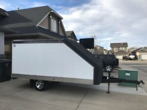 Haulmark 2 place enclosed sled trailer