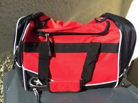 12 numbered Football team sports bags
