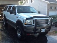 2003 Ford Excursion Eddie Bauer SUV, 7.3 leather. Great power!
