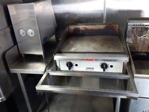 GRIDDLE (with stand) & BUN TOASTER