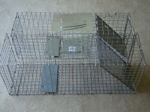 Animal catch & release cages (2)