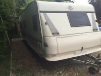 Hobby 5 berth fixed bed in good condition