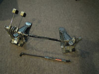 Pearl double bass pedal,