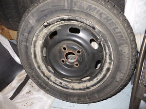 Winter Tires & Rims for 2007 or 2008 Honda Fit London Ontario image 2