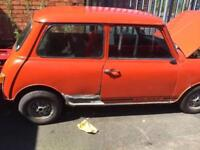 Austin Mini Clubman 1275 GT - Restoration Project