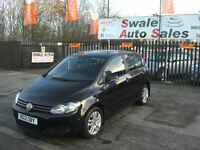 2012 VOLKSWAGEN GOLF PLUS SE MK6 1.6TDI ONLY 59,964 MILES, FULL SERVICE HISTORY