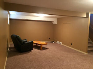 BASEMENT FOR RENT AVAILABLE MAY 1ST