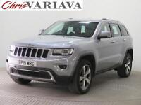 2015 Jeep Grand Cherokee V6 CRD LIMITED PLUS Diesel grey Automatic