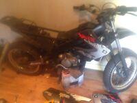 Derbi xrace 50cc sm running project