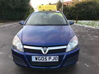 Vauxhall Astra Life 1.8i 16v Auto (blue) 2005