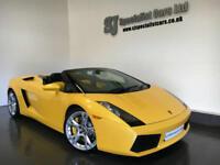 2006 [56] Lamborghini Gallardo spyder E gear *17K Full Lambo History* Great spec