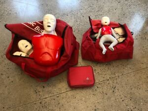 First Aid training dummies - mint condition