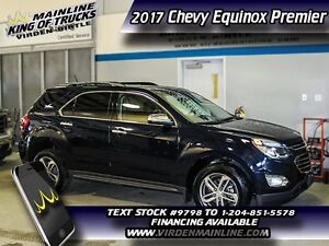 2017 Chevrolet Equinox Premier  - Heated Seats - SiriusXM - $220