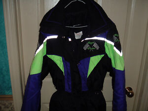 Small size adult snowmobile coat