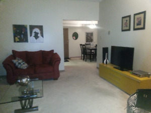 3 Bedroom apartment available for December 1, 2018