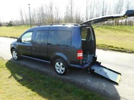 2013 Volkswagen Caddy Maxi Life 1.6 Tdi WHEELCHAIR ACCESSIBLE ADAPTED VEHICLE