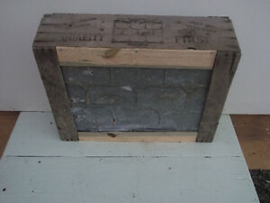 Antique Steel Roofing Shingle and Packing Crate Kingston Kingston Area image 4