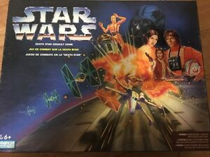 Parker Brothers Star Wars Death Star Assault Game