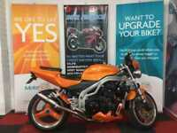 2004 04 TRIUMPH SPEED TRIPLE (955I) 955CC SPEED TRIPLE (955I)