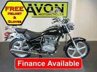 Lexmoto Arizona 125cc Custom Cruiser Chopper Motorcycle *FINANCE*